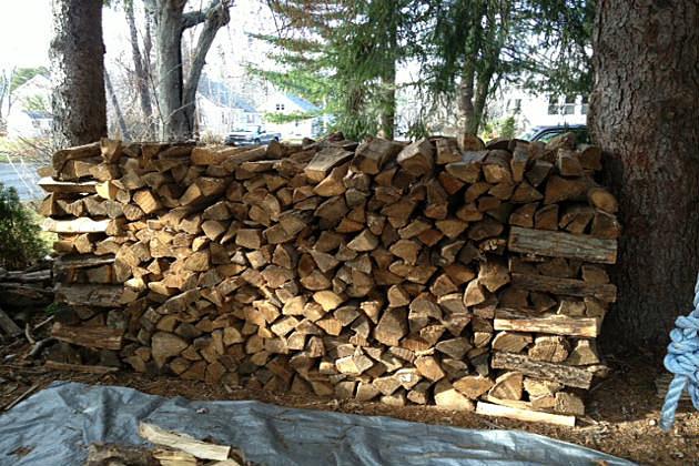 Lori's wood stack