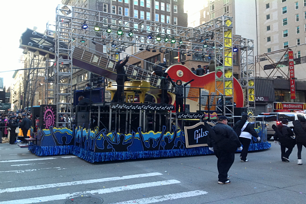 Florida George Line at Macy Day Parade