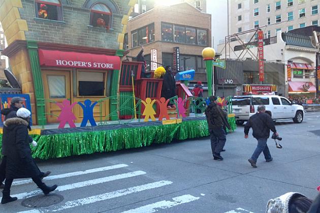 Jimmy Fallon at Macy Day Parade