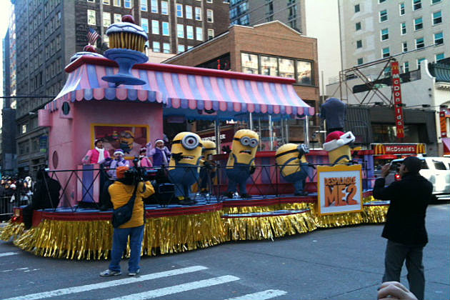Minion from 'Despicable Me' float