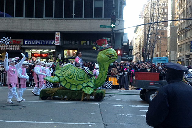 Richard Simmons at the Macy Day Parade