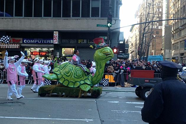 Richard Simmons at the Macy Day Parade
