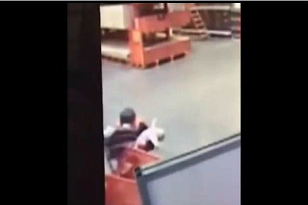baby saved at Home Depot