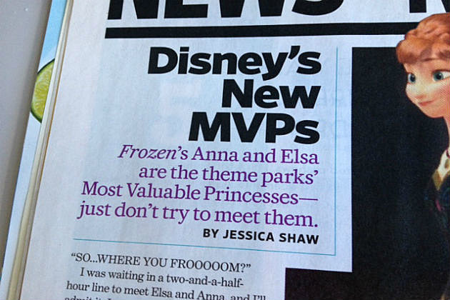 Elsa and Anna article