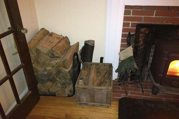 last of the firewood