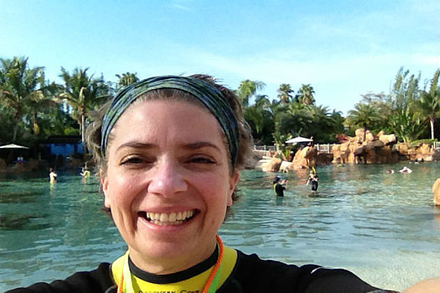 Lori Voornas at Discovery Cove