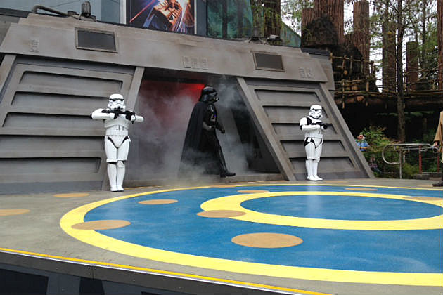 Darth Vader at Jedi Training in Disney