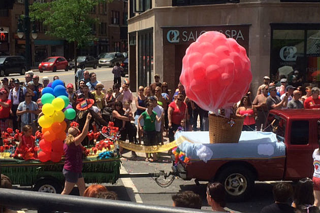 Fran Peabody float