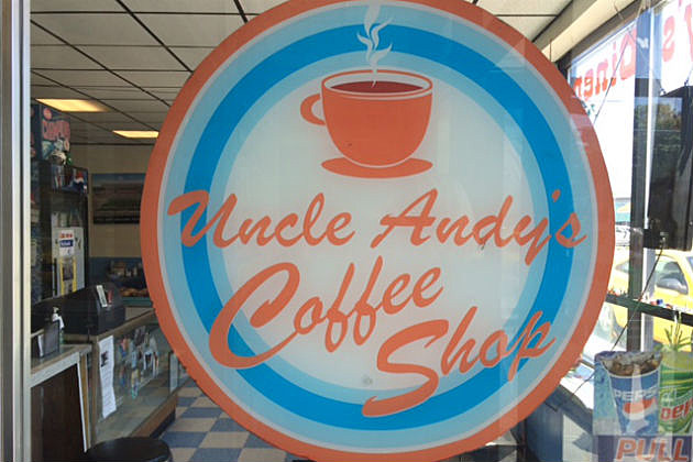 Uncle Andy's sign
