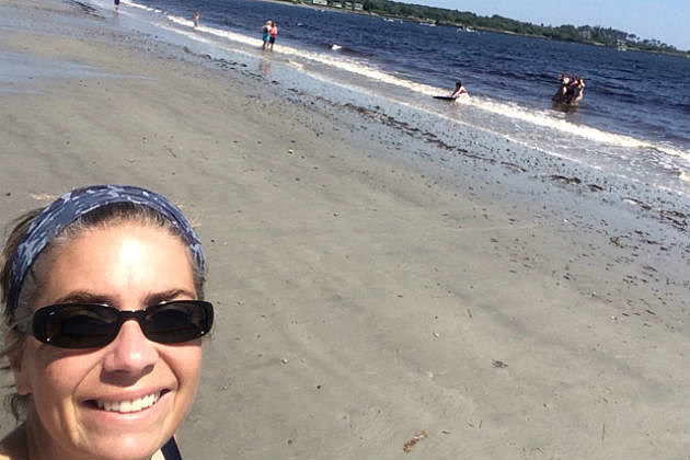Lori at Crescent Beach