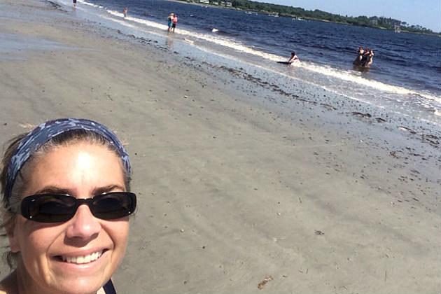 Lori at Crescent Beach