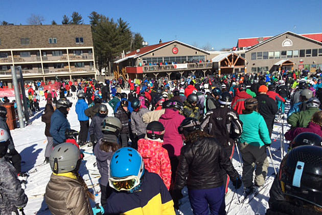 Sunday River is packed!