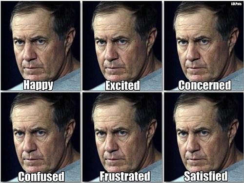 Belichick Faces the 10 best coach bill belichick memes,Meme List Face