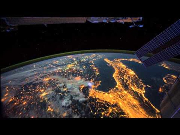 Watch: Time Lapse Footage From The International Space ...
