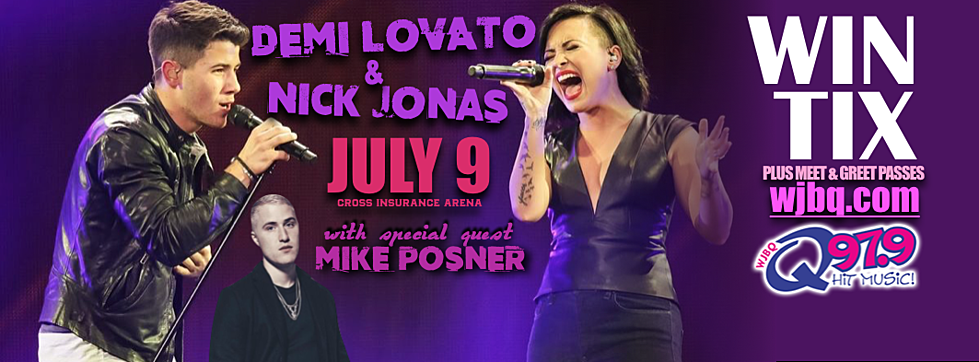 Q contest see and meet demi lovato and nick jonas video m4hsunfo