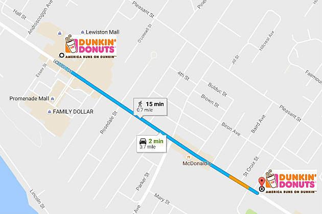 dunkin donuts coming to norway location just half a mile from south paris dunkin