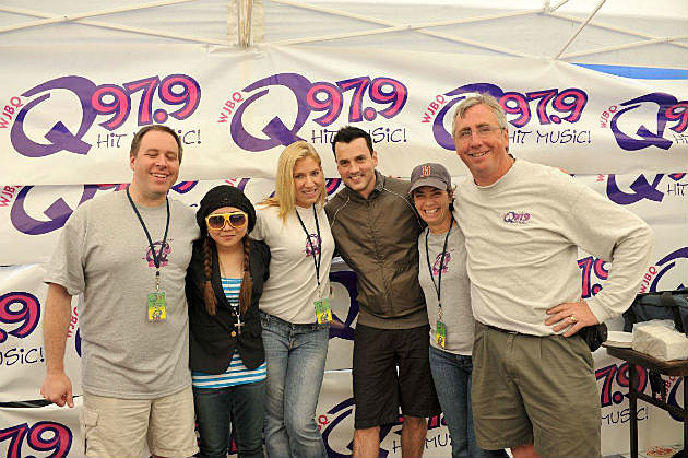 Tommy Page with Q