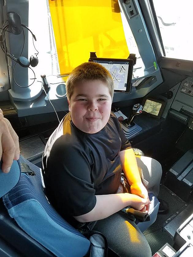 Jake in Cockpit