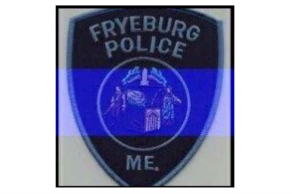 Maine Police Departments Honor Fallen Fryeburg Officer On Their