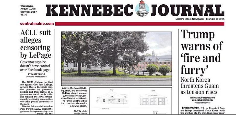 Kennebec Journal via twitter